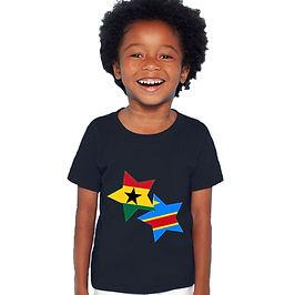 Ghana & Democratic Republic of Congo Childrens T-Shirt