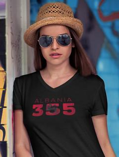 Albania 355 Womens T-Shirt