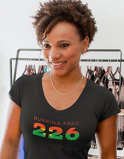 Burkina Faso 226 Womens T-Shirt