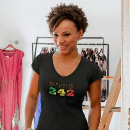Republic of the Congo 242 Women's T-Shirt
