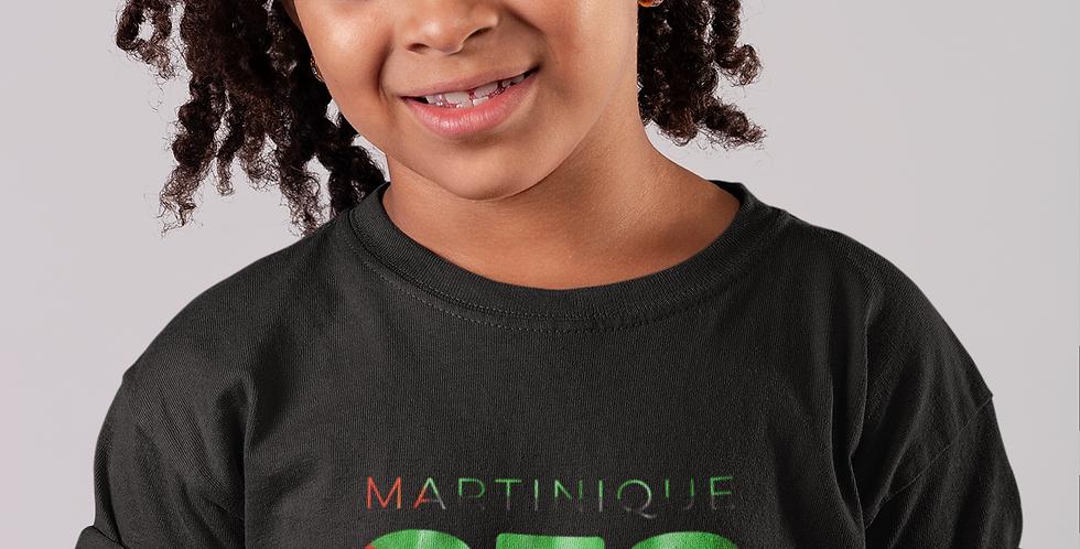Childrens Martinique Black T-shirt