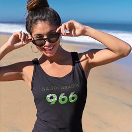 Saudi Arabia 966 Womens Vest