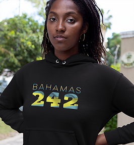 Bahamas 242 Womens Pullover Hoodie