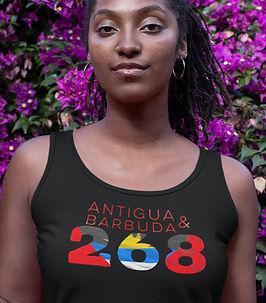 Antigua & Barbuda 268 Womens Vest