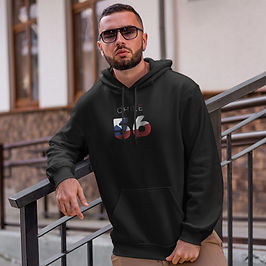 Chile 56 Men's Pullover Hoodie