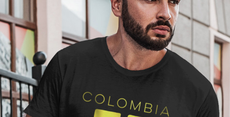 Colombia Mens T-Shirt