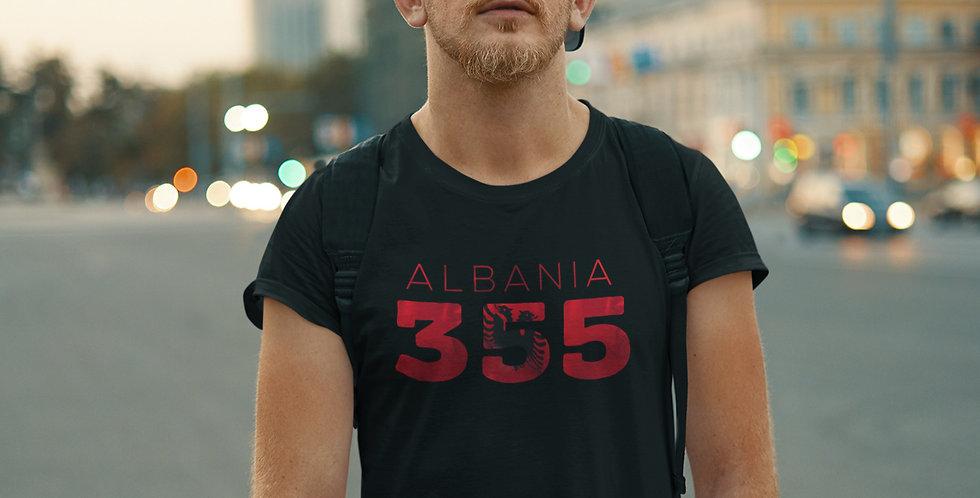 Albania Mens Black T-Shirt