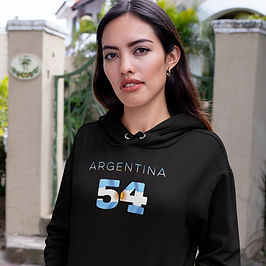 Argentina 54 Women's Pullover Hoodie