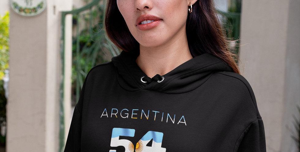 Argentina Womens Hoodie