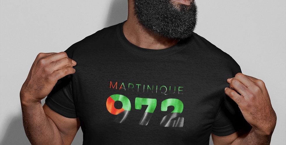 Martinique Mens Black T-Shirt