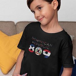Dominican Republic Childrens T-Shirt