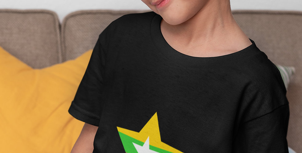 Myanmar Childrens Black T-Shirt