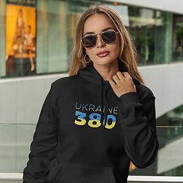 Ukraine 380 Womens Pullover Hoodie