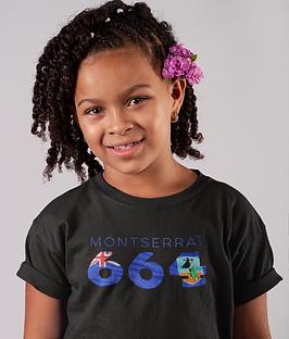 Montserrat Childrens T-Shirt