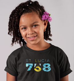 St Lucia 758 Childrens T-Shirt