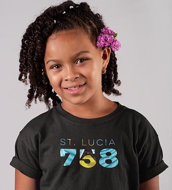 St Lucia Childrens T-Shirt
