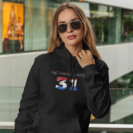 Netherlands 31 Womens Pullover Hoodie