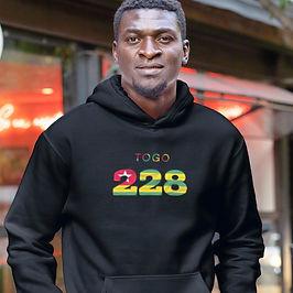 Togo 228 Men's Pullover Hoodie