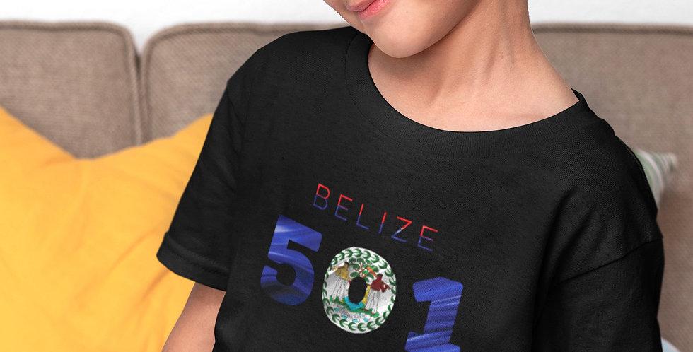 Belize Childrens Black T-Shirt