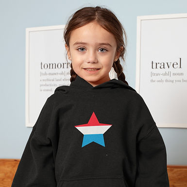 Luxembourg Childrens Hoodie
