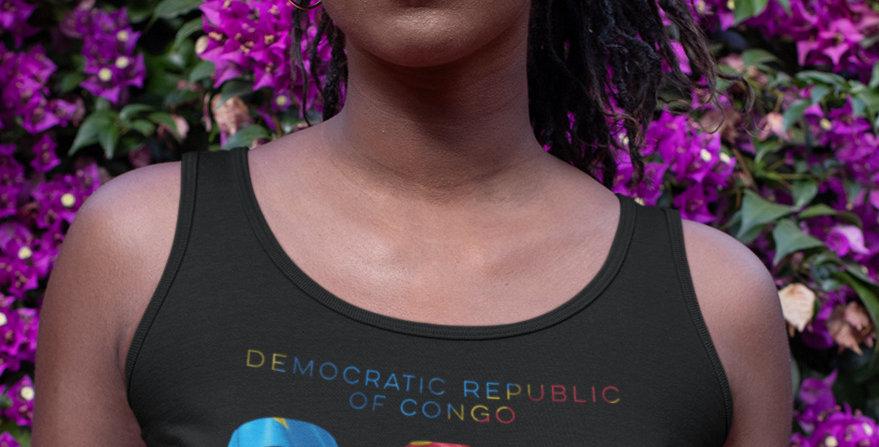 Democratic Republic of Congo Womens Vest
