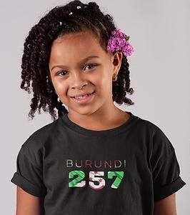 Burundi Childrens T-Shirt