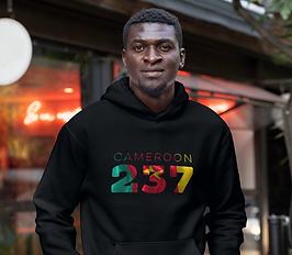 Cameroon 237 Men's Pullover Hoodie