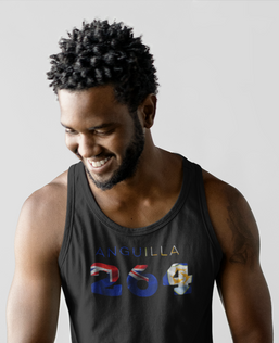 Anguilla 264 Mens Tank Top