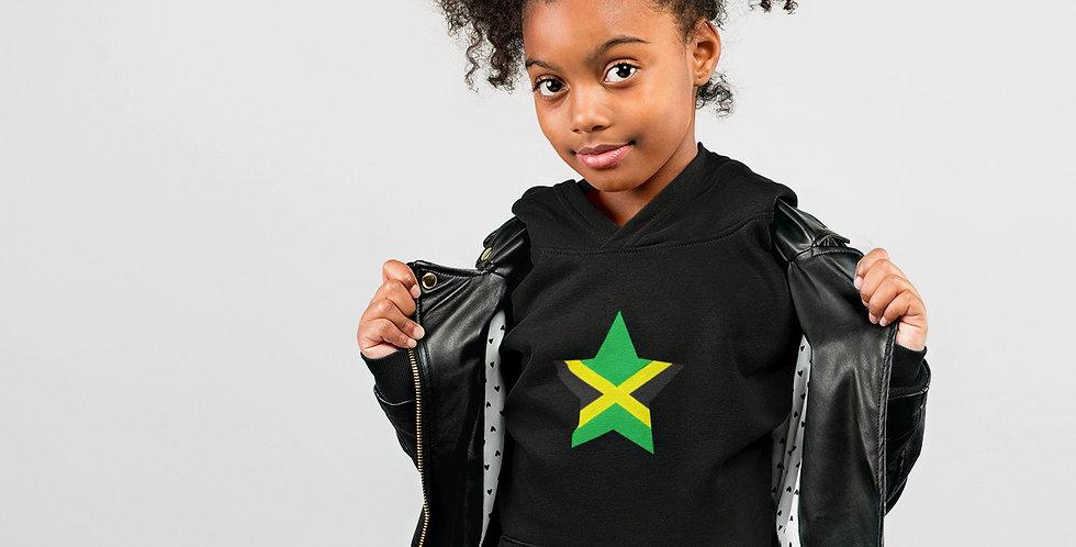 Jamaica Childrens Black Hoodie
