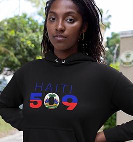 Haiti 509 Womens Pullover Hoodie