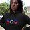 Haiti Womens Black Hoodie