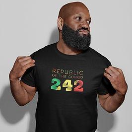 Republic of the Congo 242 Mens T-Shirt