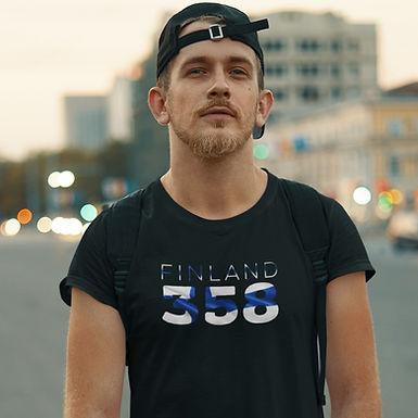 Finland 358 Mens T-Shirt