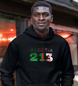 Algeria 213 Men's Pullover Hoodie
