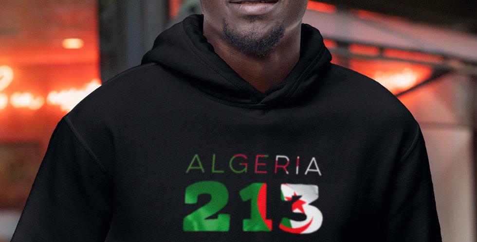 Algeria Mens Pullover Hoodie