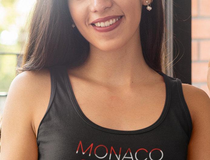 Monaco Womens Black Vest