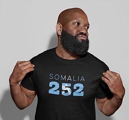 Somalia 252 Mens T-Shirt