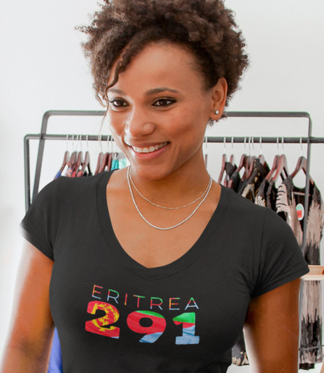 Eritrea 291 Womens T-Shirt