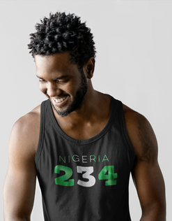 Nigeria 234 Mens Tank Top