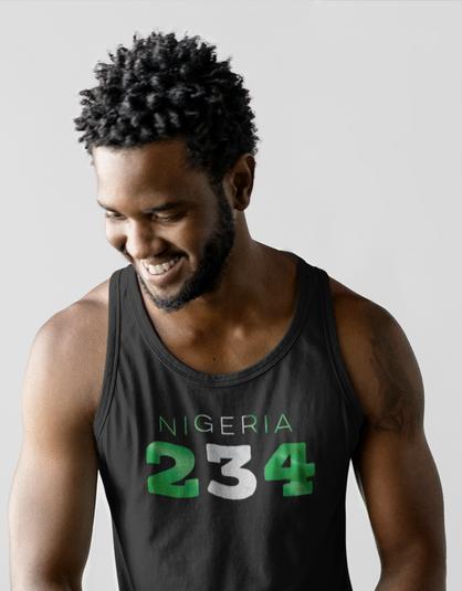 Nigeria 234 Mens Tank Top