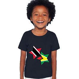 Trinidad & Tobago and Guyana Childrens T-Shirt