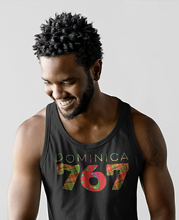 Dominica 767 Mens Tank Top