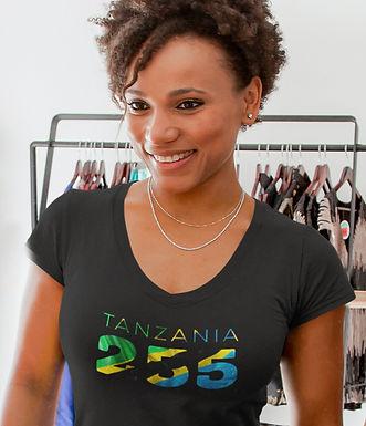 Tanzania 255 Women's T-Shirt