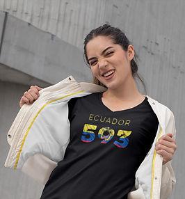 Ecuador 593 Women's T-Shirt