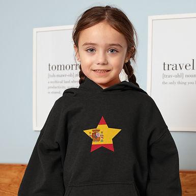 Spain Childrens Hoodie