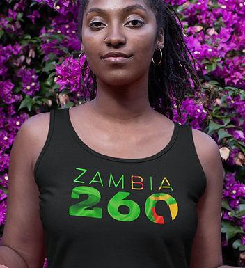 Zambia 260 Womens Vest