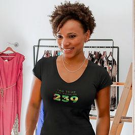 Sao Tome and Principe 239 Women's T-Shirt