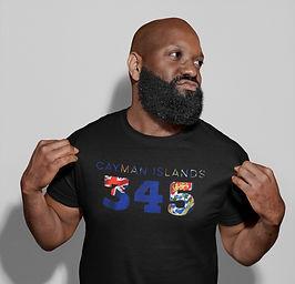 Cayman Islands 345 Mens T-Shirt