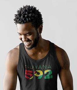 Guyana 592 Mens Tank Top