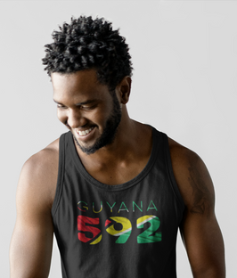 Guyana 592 Mens Tank Top